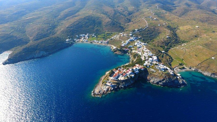 Sailing to Kithnos, Dream Weaver Sailing